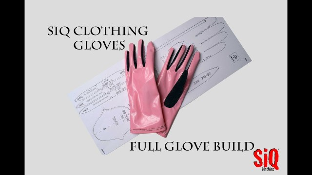 Glove Sewing Pattern Siq Clothing Gloves Sewing Tutorial Pattern Youtube