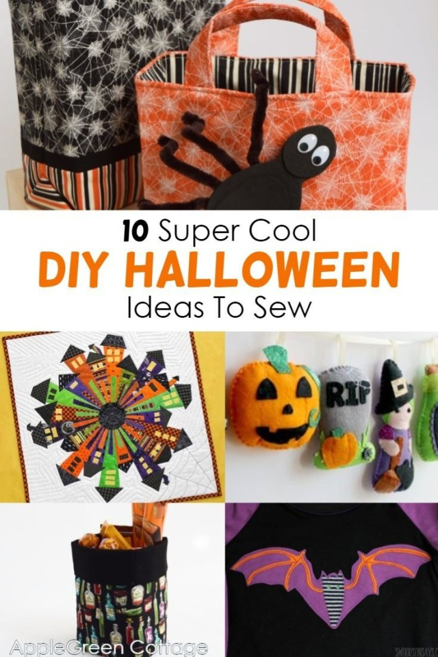 Halloween Sewing Patterns 10 Super Cool Halloween Ideas To Sew Blogger Sewing Patterns We