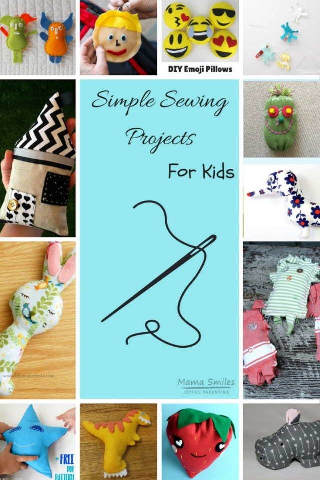 Hand Sewing Projects For Kids Simple Sewing Projects For Kids Easy And Fun To Sew Hand