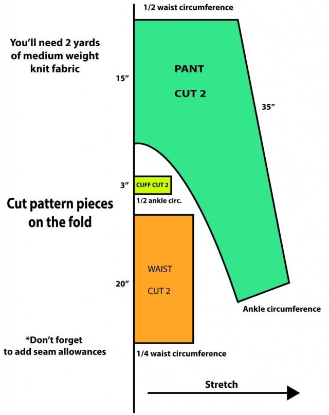 Harem Pants Sewing Pattern Found Sewing Patterns For The Haremsamuraiboho Pant Option