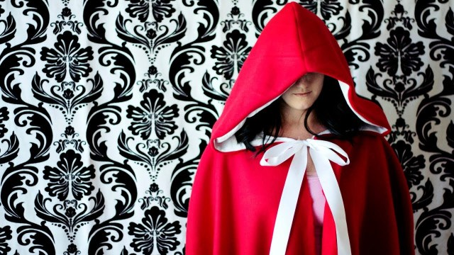 Hood Sewing Pattern How To Make A Red Riding Hood Cape Youtube
