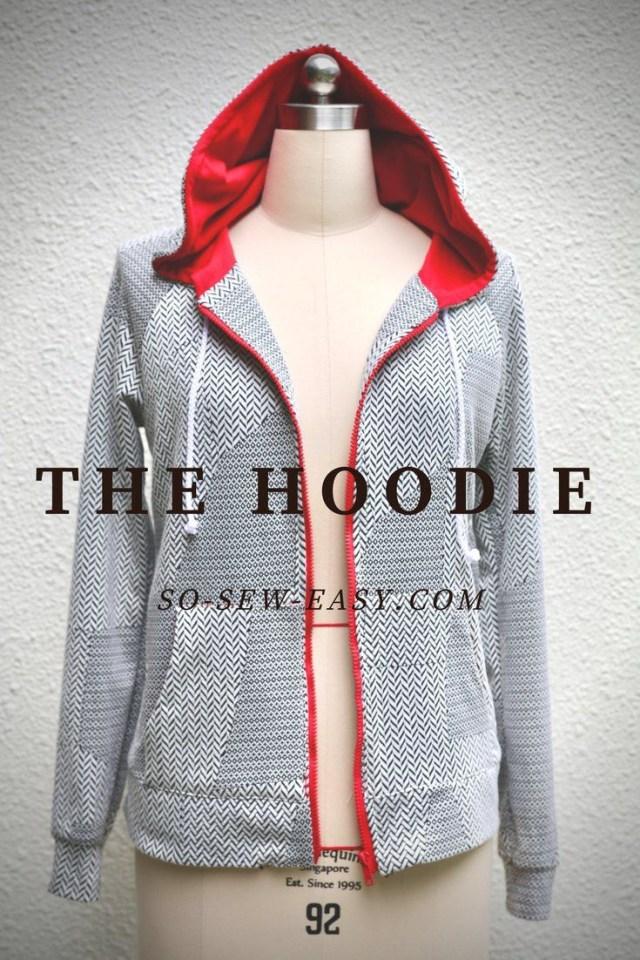 Hoodie Pattern Sewing Diy The Hoodie Pattern And Tutorial Sewing Sewing Sewing Patterns