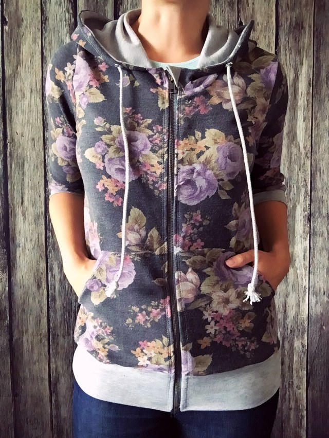 Hoodie Sewing Pattern How To Sew A Hoodie With The Babe Pattern The Di Club
