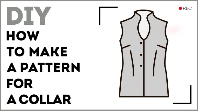 How To Make A Sewing Pattern Diy How To Make A Pattern For A Collar Making A One Piece Band