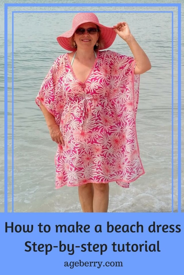 How To Make A Sewing Pattern Free Sewing Patterns A Beach Dress Ageberry Helping You Succeed