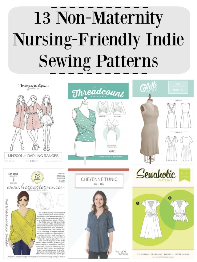 Indie Sewing Patterns 13 Non Maternity Nursing Friendly Indie Sewing Patterns Diy Maternity
