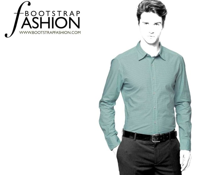 Indie Sewing Patterns Exclusive Vado Designs Made To Measure Slim Fit Mens Shirt