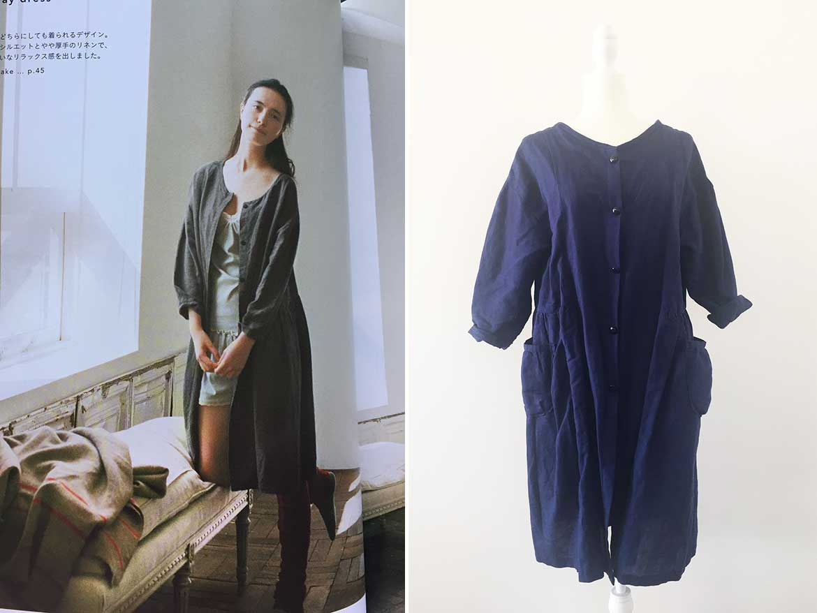 Japanese Sewing Patterns Japanese Pattern Review Linen Shirt Dress From Simple Chic Sew In