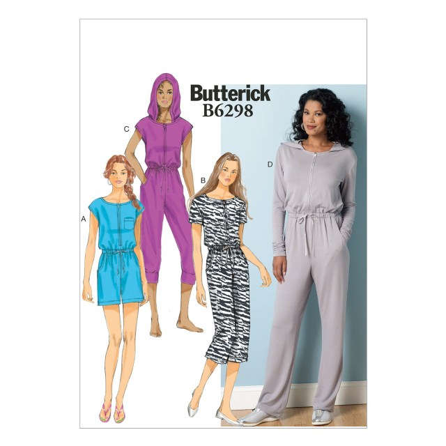 Jumpsuit Sewing Pattern Butterick Misses Romper And Jumpsuit Sewing Pattern 373112