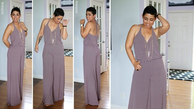 Jumpsuit Sewing Pattern Easy Jumpsuit Sew Along Youtube