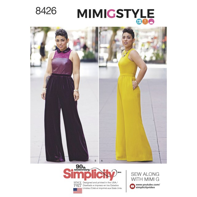 Jumpsuit Sewing Pattern Simplicity Pattern 8426 Misses Plus Size Jumpsuit Mimi G