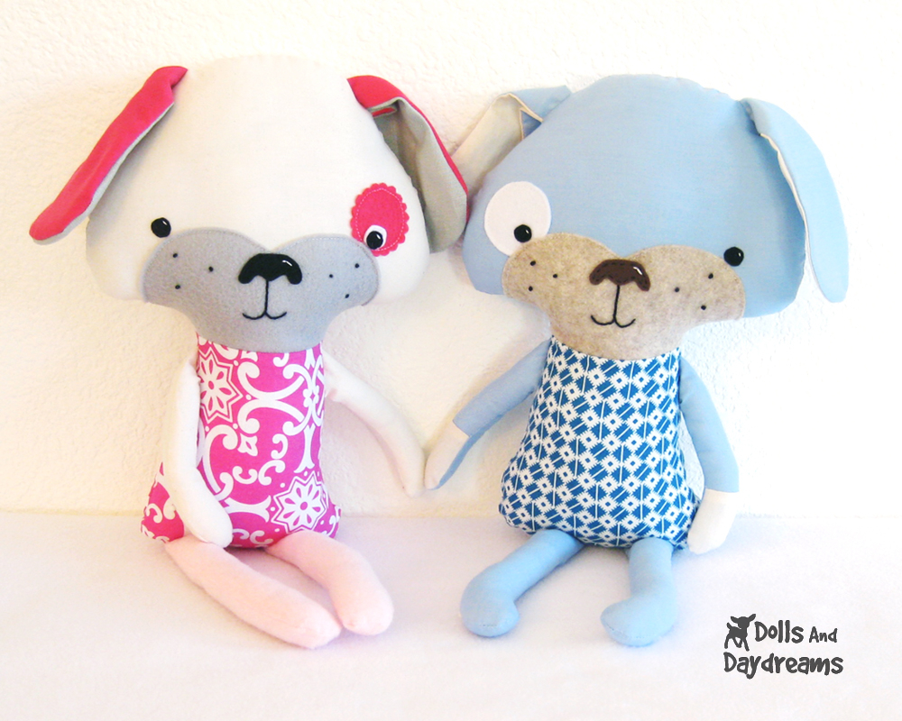 Kawaii Sewing Patterns Dolls And Daydreams Doll And Softie Pdf Sewing Patterns Puppy Dog