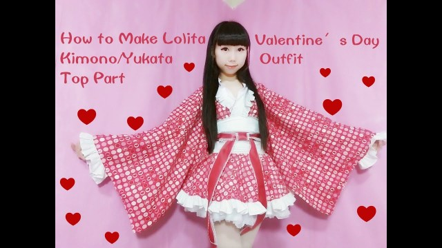 Kawaii Sewing Patterns Kawaii Diy How To Sew A Fancy Lolita Kimonoyukata Part 1 Top For