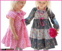 Kids Patterns Sewing Daughters Astra Peasant Girls Dress Pattern Free Mother Daughter Apron