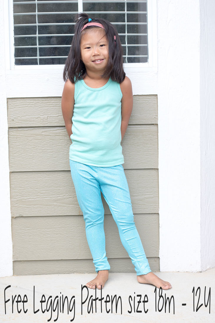 Kids Patterns Sewing Daughters Free Classic Legging Pattern For Girls 18 Mths 12 Years Life Sew