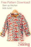 Kids Patterns Sewing Free Kids Tunic Free Pattern To Download Diy Sewing For Little