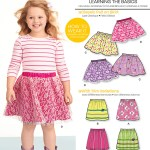 Kids Patterns Sewing New Look 6172 Childrens Skirt