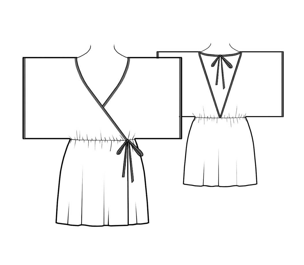 Kimono Sewing Pattern Bootstrapfashion Designer Sewing Patterns Affordable Trend