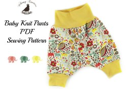 Knit Sewing Patterns Baby Free Pdf Sewing Pattern For Ba Knit Pants Sewing Sewing Ba