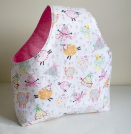 Knitting Bag Sewing Pattern Projects Yarn Bag Sewing Pattern Piece Sewing Pinterest Costura