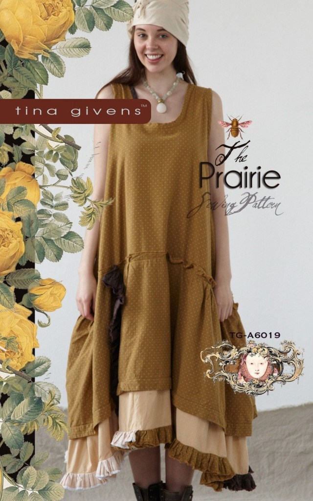 Lagenlook Sewing Patterns The Prairie Tg A6019 Sewing Pattern Tina Givens Lagenlook Style