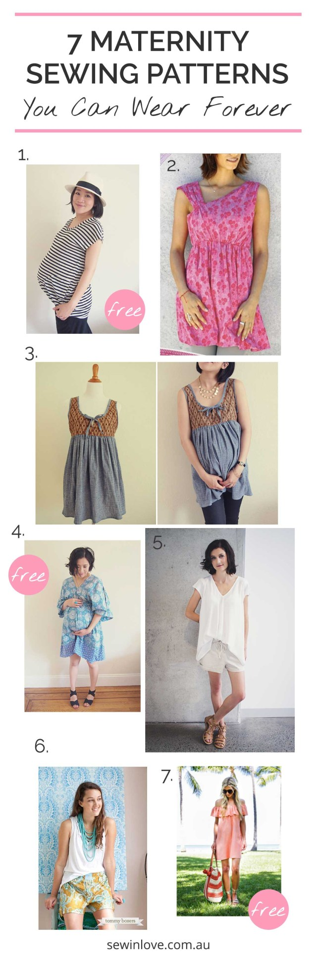 Maternity Sewing Patterns 7 Maternity Sewing Patterns You Can Wear Forever 3 Are Free Sew
