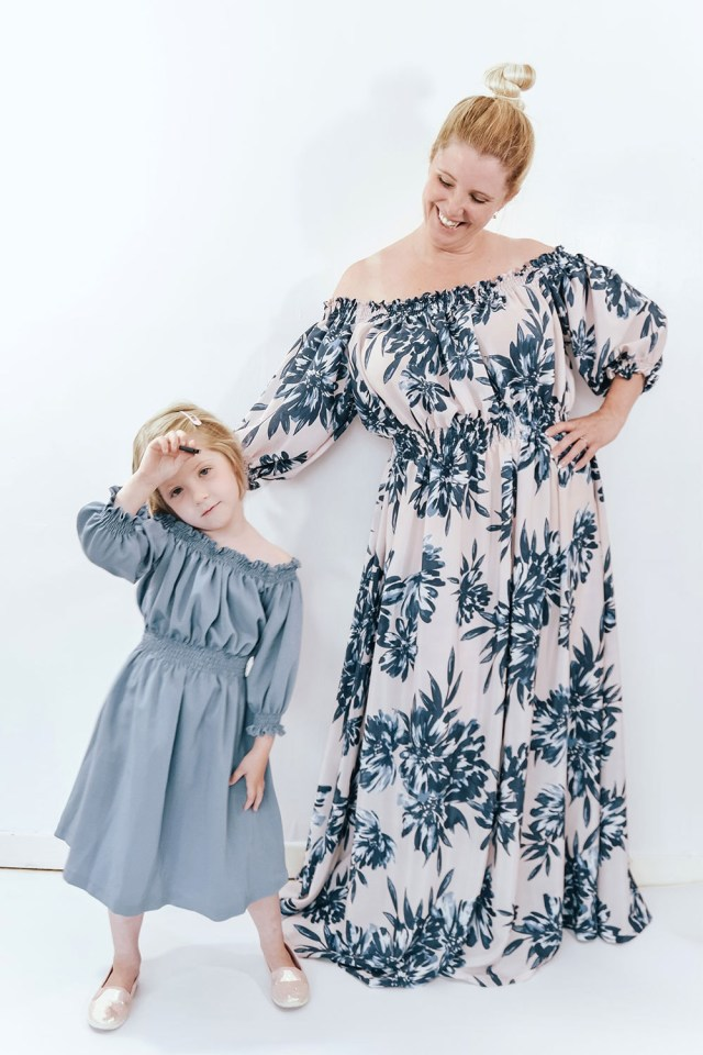 Maxi Dress Sewing Pattern Off The Shoulder Maxi Dress Sewing Pattern The Eloise