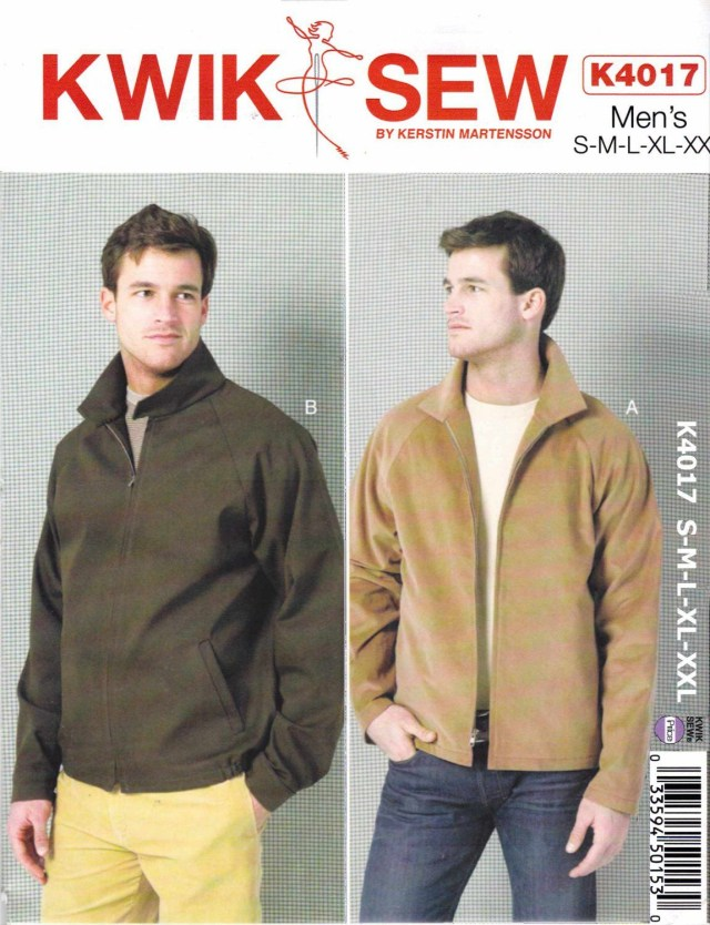 Mens Sewing Patterns Kwik Sew Sewing Pattern 4017 Mens Size S Xxl Waist 28 46
