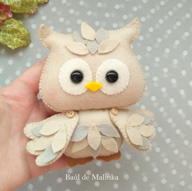 Owl Sewing Pattern Owl Sewing Pattern Felt Owl Ornament Owl Doll Felt Tutorial Etsy