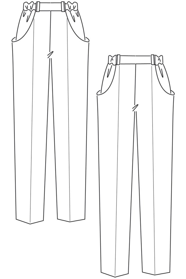Pants Sewing Pattern Need A Sewing Pattern For Some Comfy Trousers Or Shorts