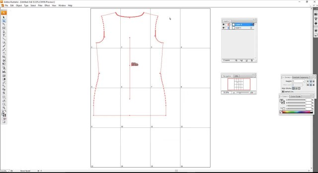 Patterns For Sewing Adobe Illustrator Cs3 Creating A Tiled Artboard For Pdf Sewing Patterns