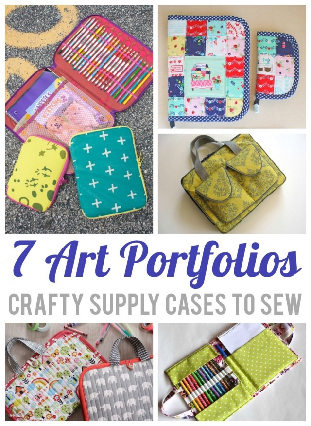Purse Patterns To Sew 7 Organizer Sewing Patterns For Art Supplies Bag And Purse