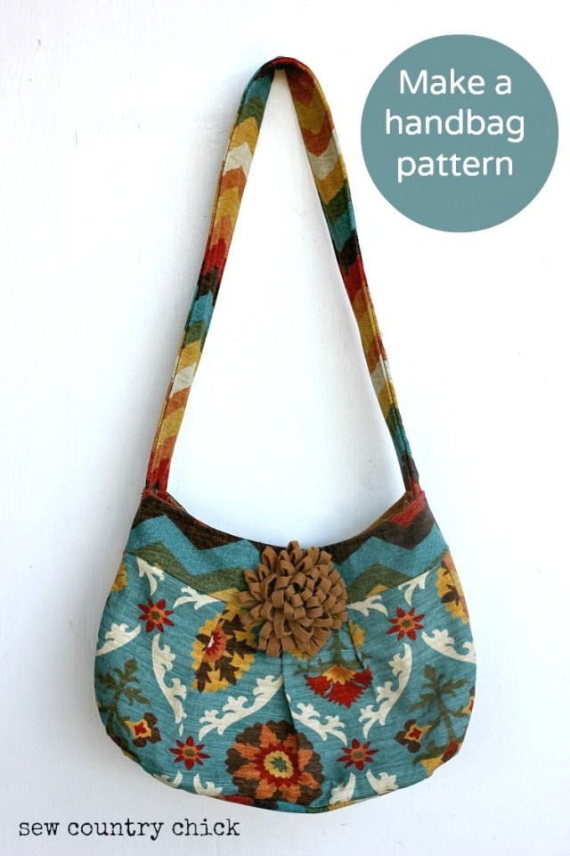 Purse Patterns To Sew How I Make A Handbag Pattern And Sew It Projects To Try Handbag