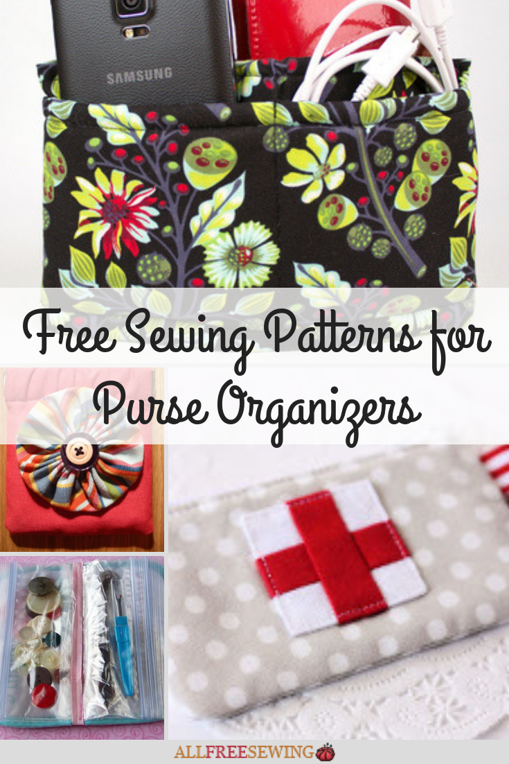 Purse Sewing Patterns 15 Free Sewing Patterns For Purse Organizers Allfreesewing