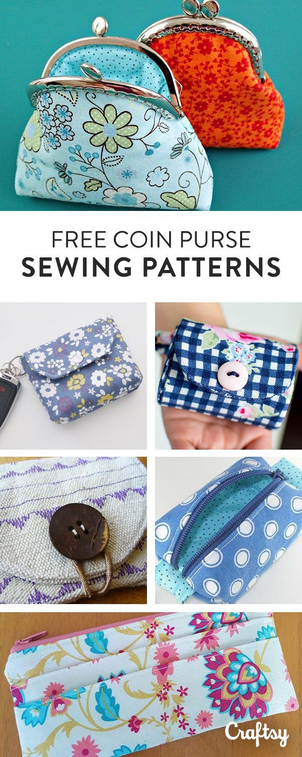 Purse Sewing Patterns Free Coin Purse Patterns To Stash Anything And Everything