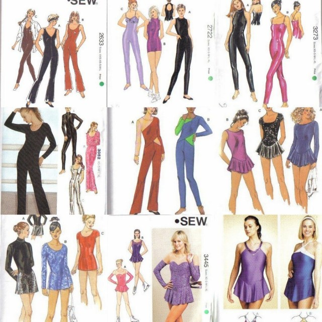 Quick Sew Patterns Kwik Sew Sewing Pattern Misses Unitard Leotard Dance Xs S M L Xl W
