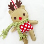 Reindeer Sewing Pattern Reindeer Ornament Pattern Christmas Sewing Pattern Reindeer Doll