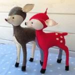 Reindeer Sewing Pattern Vintage Style Ba Reindeer Bustle Sew