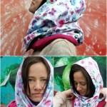 Scarf Sewing Pattern Freebook Loopschal Damen Hat Pinterest
