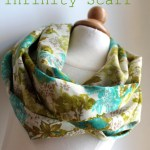 Scarf Sewing Pattern Lightweight Spring Infinity Scarf Tutorial The Cottage Mama