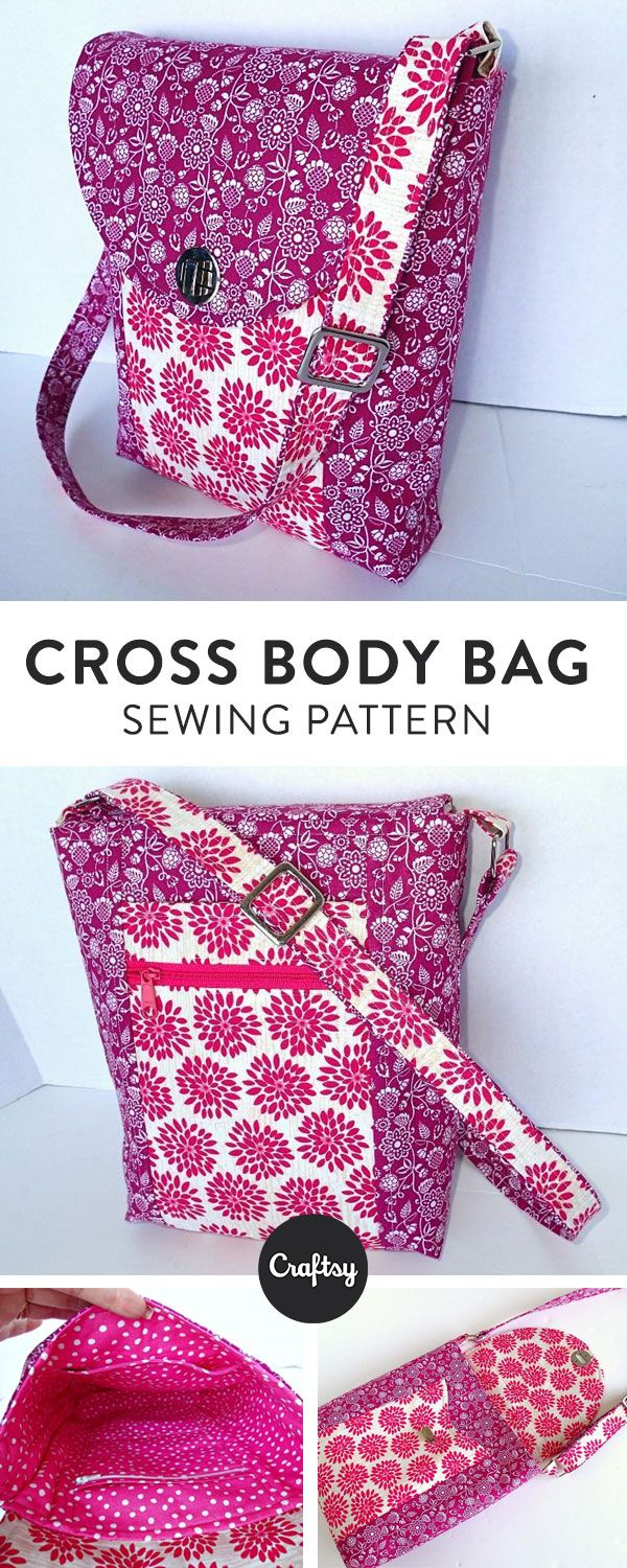 Sew Cool Patterns Cross Body Bag Sew Cool Pinterest Sewing Sewing Patterns And