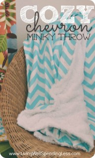 Sewing Blankets Ideas Diy Cozy Chevron Minky Throw Crafts Sewing Ideas Diy Buffalo Bills