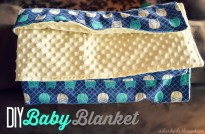 Sewing Blankets Ideas Orchard Girls Super Easy Diy Ba Blanket Tutorial With Minky And