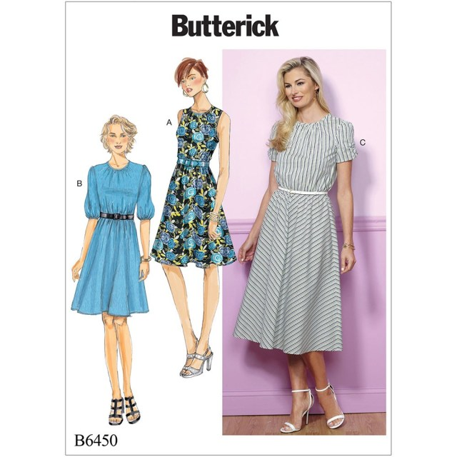 Sewing Dress Patterns Misses And Misses Petite Gathered Blouson Dresses Butterick Sewing