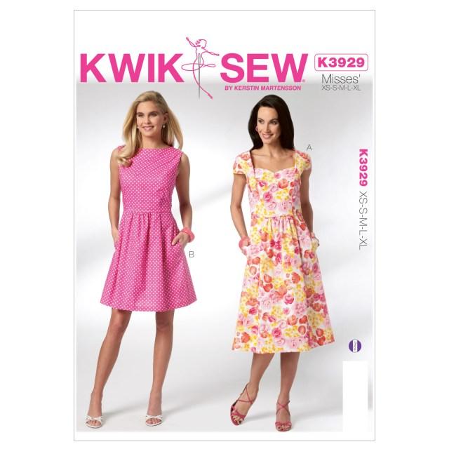 Sewing Dress Patterns Misses Dresses Xs S M L Xl Pattern Joann