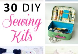 Sewing Kits Diy Sewing Kits 30 Ideas Every Sewing Hobist Will Love Free Pattern