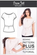 Sewing Pattern Easy Blouse Patterns Sewing Patterns Easy Sewing Projects Etsy