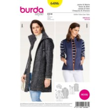 Sewing Pattern Womens Coat Burda Womens Jackets And Coats Sewing Patterns Sew Essential