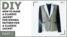 Sewing Pattern Womens Coat Diy How To Make A Classic Jacket For Women Pattern For A Classic