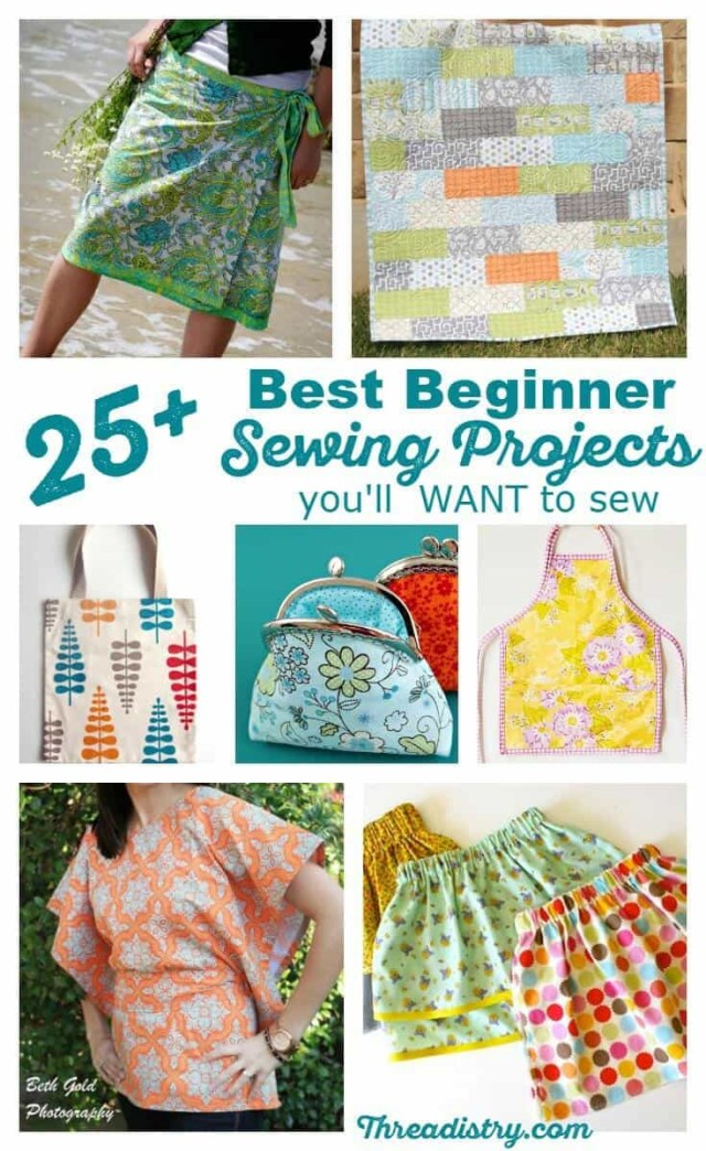 Sewing Patterns For Beginners 25 Best Absolute Beginner Sewing Projects Youll Want To Sew